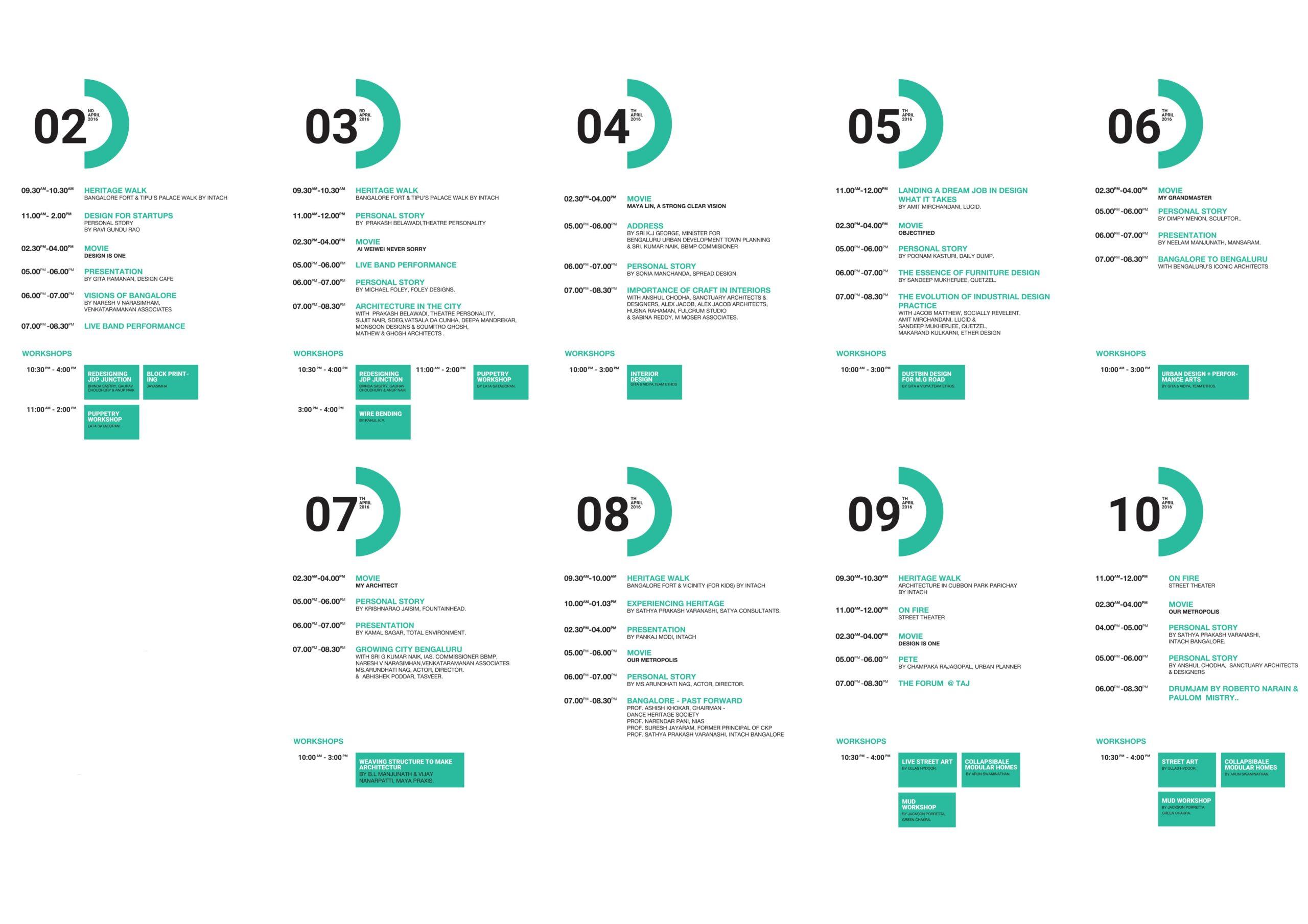 Designuru-schedule