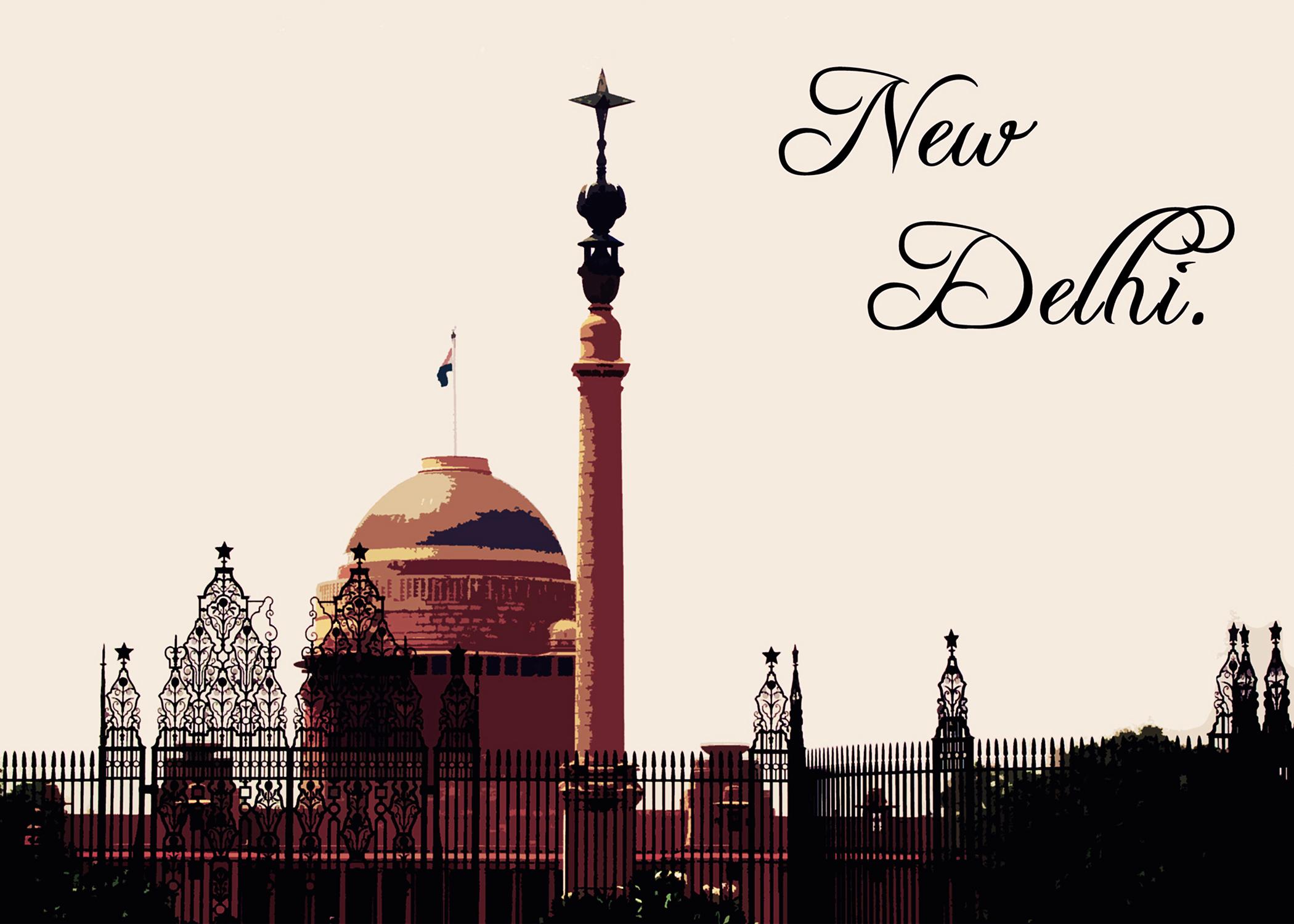 New-Delhi_Postcard_Front_7x5in
