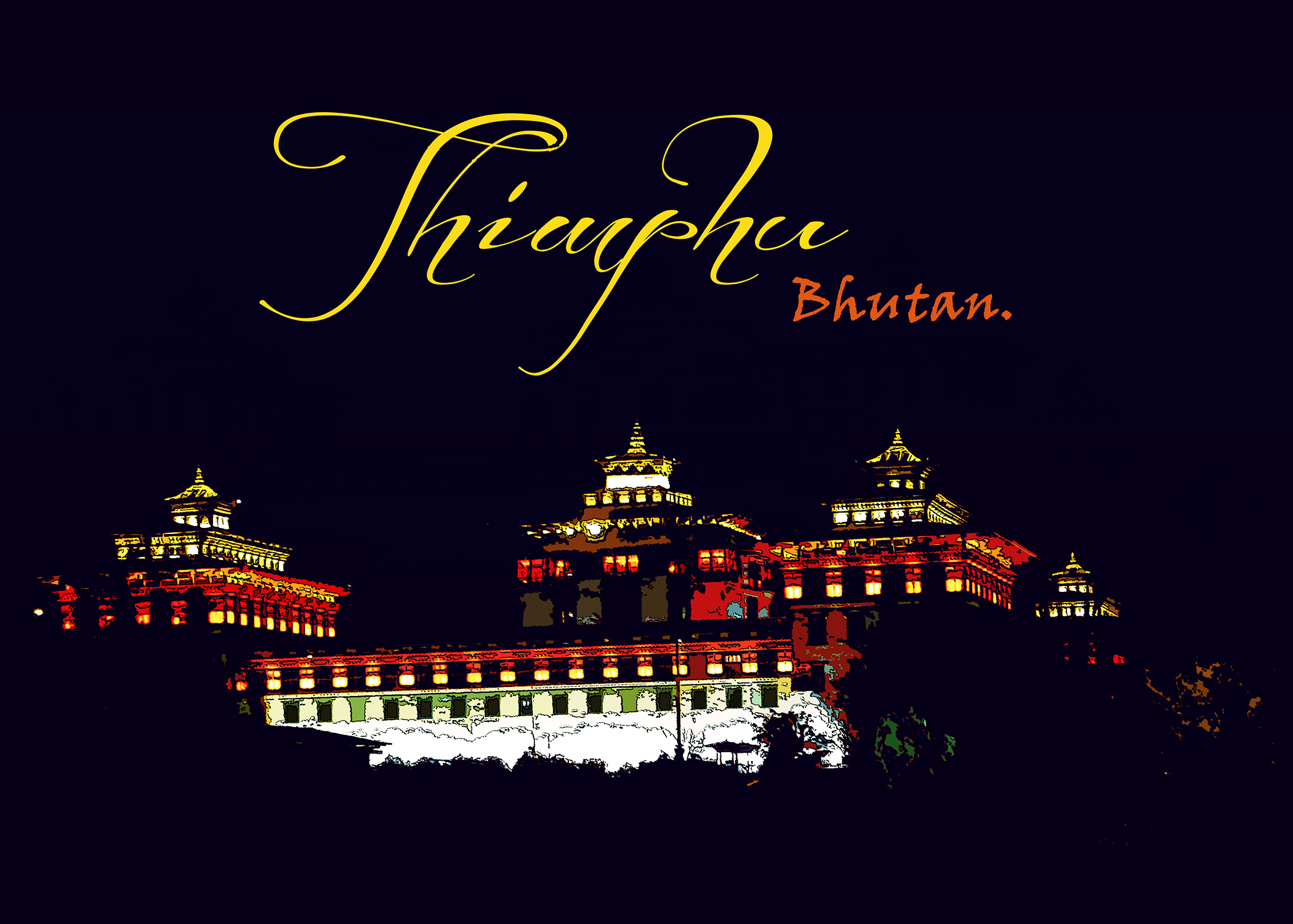 Thimphu_Postcard_Front_7x5in